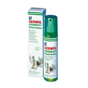 KRÄUTERLOTION lotion ziołowy do stóp spray 150 ml - Gehwol